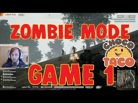 chocoTaco CARRIES ALLSTAR TEAM in Walking Dead ZOMBIE MODE PUBG Promo Game Recap 1 of 7