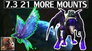 7.3 21 More Mounts - WoW Legion
