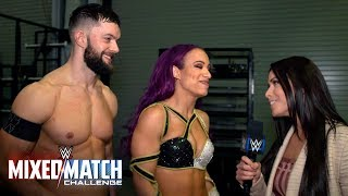 Who do Finn Bálor & Sasha Banks hope to face next in WWE Mixed Match Challenge?