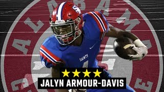 Alabama commit Jalyn Armour-Davis: Junior season highlights