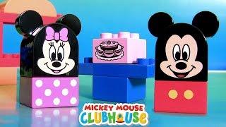 LEGO DUPLO A Casa de Mickey Mouse com a Peppa Pig O Trem do Vovô da Peppa Brinquedos BR 10579