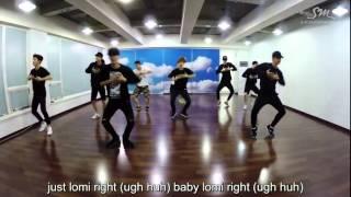 EXO LOVE ME RIGHT Dance Practice (w/ Tagalog Misheard Lyrics)