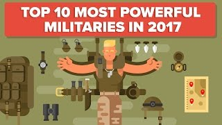 Top 10 Most Powerful Militaries - Military / Army Comparison