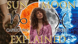 ☉ Sun in Capricorn ☽ Moon in Pisces