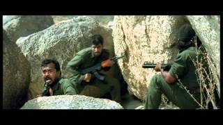 Hindi Film - Tango Charlie - Drama - Action Scene - Ajay Devgan - Enemy Ambushed
