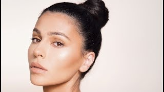 ALL NUDE MAKEUP TUTORIAL + HOW TO GET FLAWLESS SKIN  | Teni Panosian