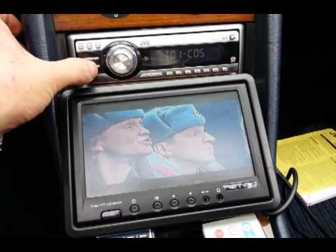 Jvc KD DV5101 CD MP3 DVD PLAYER RADIO