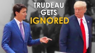 Justin Trudeau Gets IGNORED By Trump at The G20 Summit (What He SHOULD Have Done)