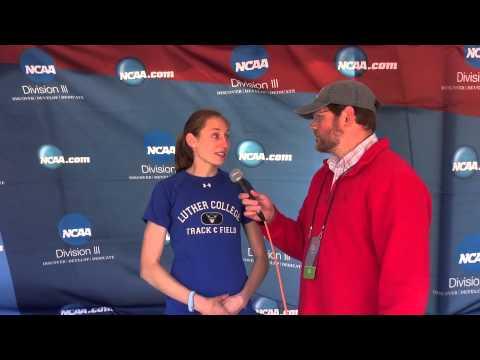 2015 DIII NCAA Women's 1500k Champion