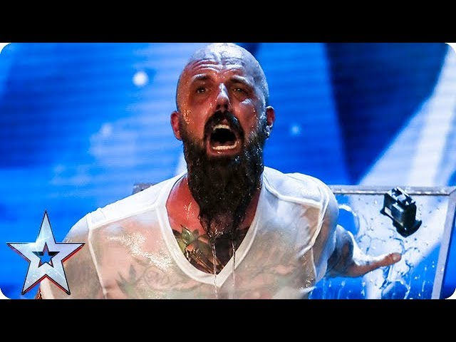 Matt Johnson has Judges holding their breath IN FEAR!   Auditions Week 1   Britain's Got Talent 2018