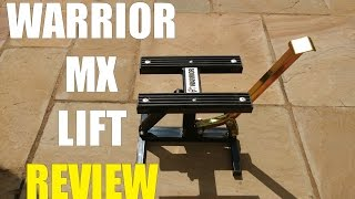 WARRIOR MX/ENDURO/PITBIKE LIFT | REVIEW