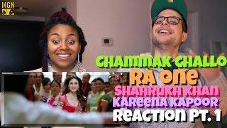 Chammak Challo - Full Song - Ra One | ShahRukh Khan | Kareena Kapoor Reaction Pt.1