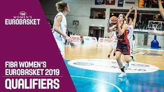 Switzerland v Belgium - Full Game - FIBA Women's EuroBasket 2019 Qualifiers
