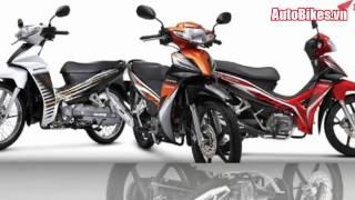 Honda Blade 110cc 2017 thêm màu mới đáp ứng chuẩn khí thải Euro 3