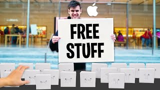 I Opened A FREE Apple Store