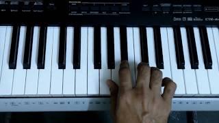 humma humma | Ok Jaanu | Keyboard/ Piano Instrumental