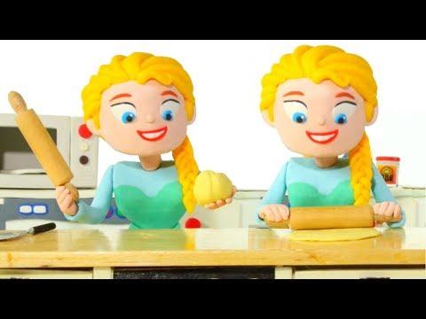 Xxx Mp4 FROZEN ELSA BEST CHEF EVER ❤ Spiderman Hulk Frozen Elsa Play Doh Cartoons For Kids 3gp Sex