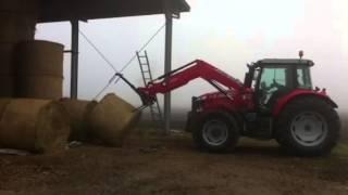 Massey ferguson 6616 front loader