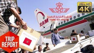 Trip Report (4K) - Royal Air Maroc AT817 Economy Class Berlin to Casablanca (TXL - CMN)