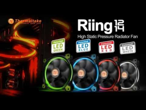 Thermaltake Riing Fan Product Animation