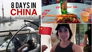 8 DAYS IN SHANGHAI, CHINA! Fake Market, Amazing Food, Hidden Bar, Airbnb & Hostel Room Tour!