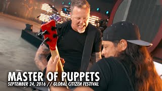 Metallica: Master of Puppets (Live - Global Citizen - New York, NY - 2016)