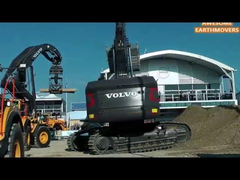 Volvo EC950  Excavator at Bauma 2016