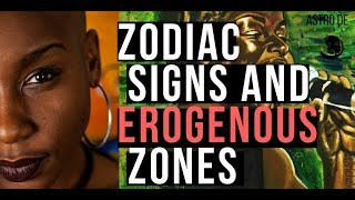 Astro de's Astrology and Zodiac sign erogenous zones (Medical Astrology)