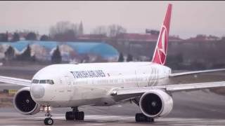 Turkish Airlines Boarding Music - Take Off