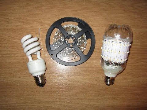 Лампочка светодиодов своими руками