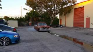 Taylor Swift 63 F100 Twin Turbo Coyote First Burnout