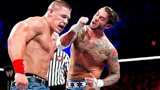 [CHANNEL CHEA] Money In The Bank 2011 CM Punk Vs  John Cena
