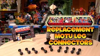 Vintage Masters of the Universe Figure Replacement Leg Connectors by Amos Del Retro!