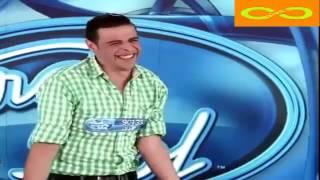 محمد الحوري المشترك الذي أبكى لجنة تحكيم arab idol من الضحك