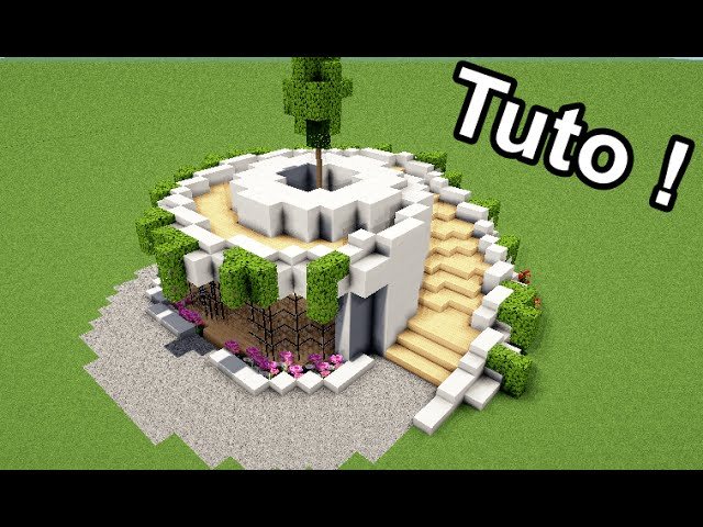 Minecraft Comment Faire Une Maison Moderne Et Luxueuse. Great Les ...