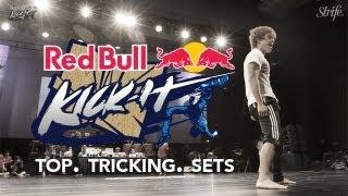 Top Tricking Sets ft. bboy Pocket | STRIFE. | Redbull Kick It (Korea)
