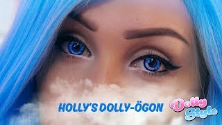 GET READY WITH ME – HOLLY'S DOLLY-ÖGON TUTORIAL – Dolly Style