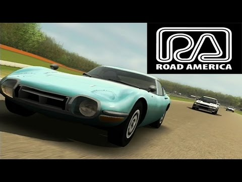Forza Motorsport 1 Toyota 2000GT - Road America Replay (car 3/231)