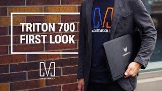 Acer Predator Triton 700 First Look