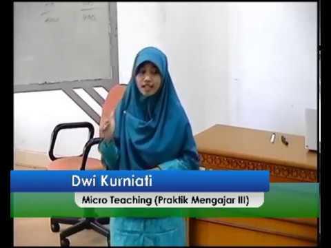 Micro Teaching tentang Sifat Wajib bagi Rosul (Dwi Kurniati)