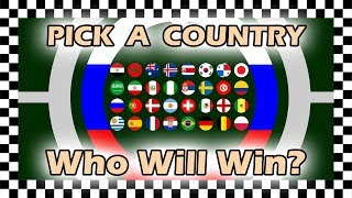 Marble Race Plinko Country Balls World Cup 2018 Russia Re Run Prediction Algodoo