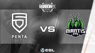Rainbow Six Pro League 2017 - Season 3 Finals - PC - PENTA Sports vs. mantis FPS - day 1