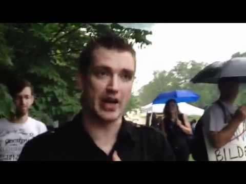 VETERAN GRABBED, GROPED 3 TIMES And FORCFULLY VACCINATED BY BILDERBERG POLICE!