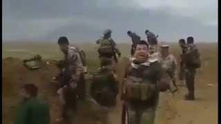 Kurdish Peshmerga kills dozens of ISIS outside trenches