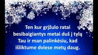 Katažina ir Irūna - Švęsim Kalėdas kartu (su žodžiais)