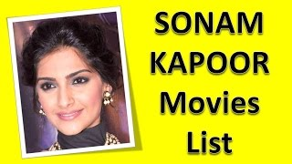 Sonam Kapoor Movies List