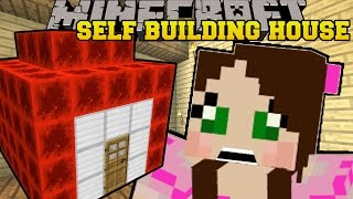 Minecraft: SELF BUILDING REDSTONE HOUSE!! - CURSE OF THE PUMPKIN PRINCE - Custom Map [2]