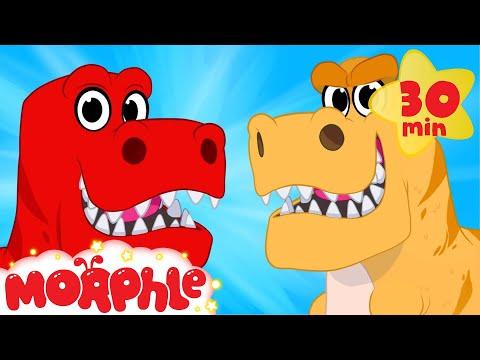 Dinosaur Morphle Goes Back In Time Morphle Animations For Kids