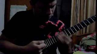 Sea of lies (symphony X) guitar solo cover by SHAKIL from Bangladesh