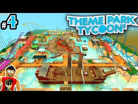 how to build the flume in theme park tycoom